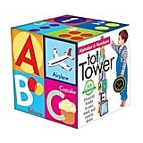 Eeboo Toddler Alphabet Tower