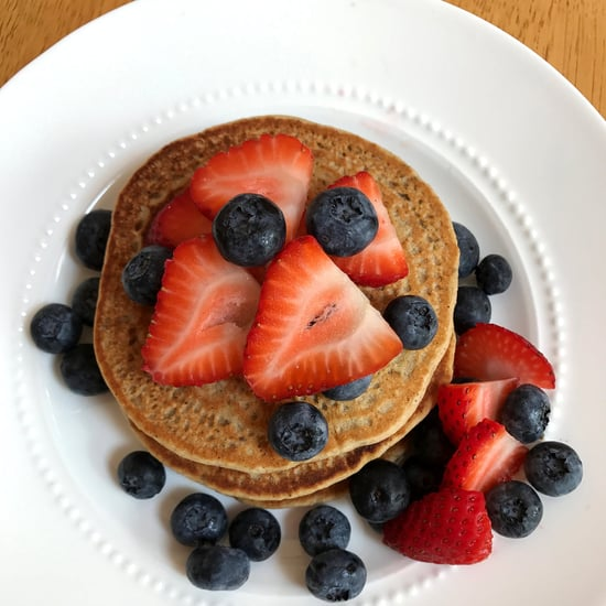 Whole-Wheat Protein Pancakes Recipe