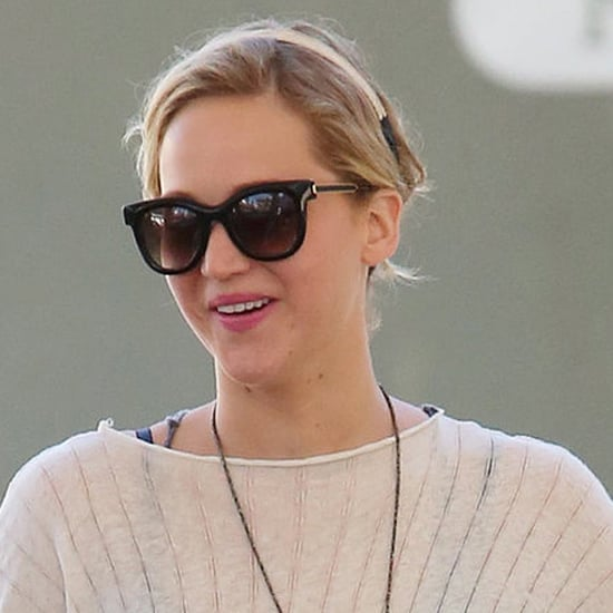 Jennifer Lawrence in LA After Chris Martin Breakup