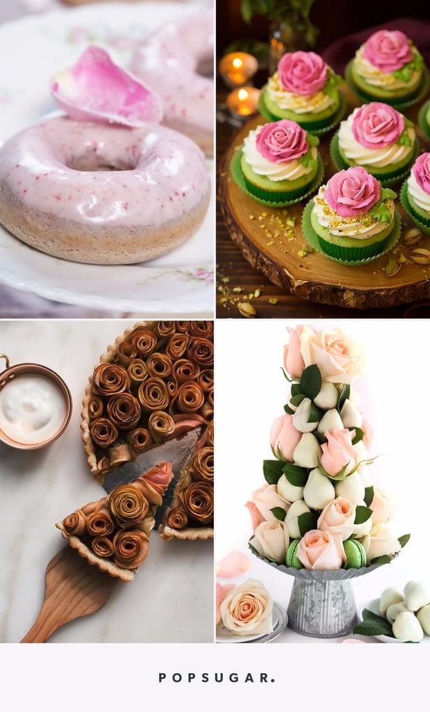 Rose Desserts For Weddings