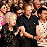 Betty White and Robert Pattinson
