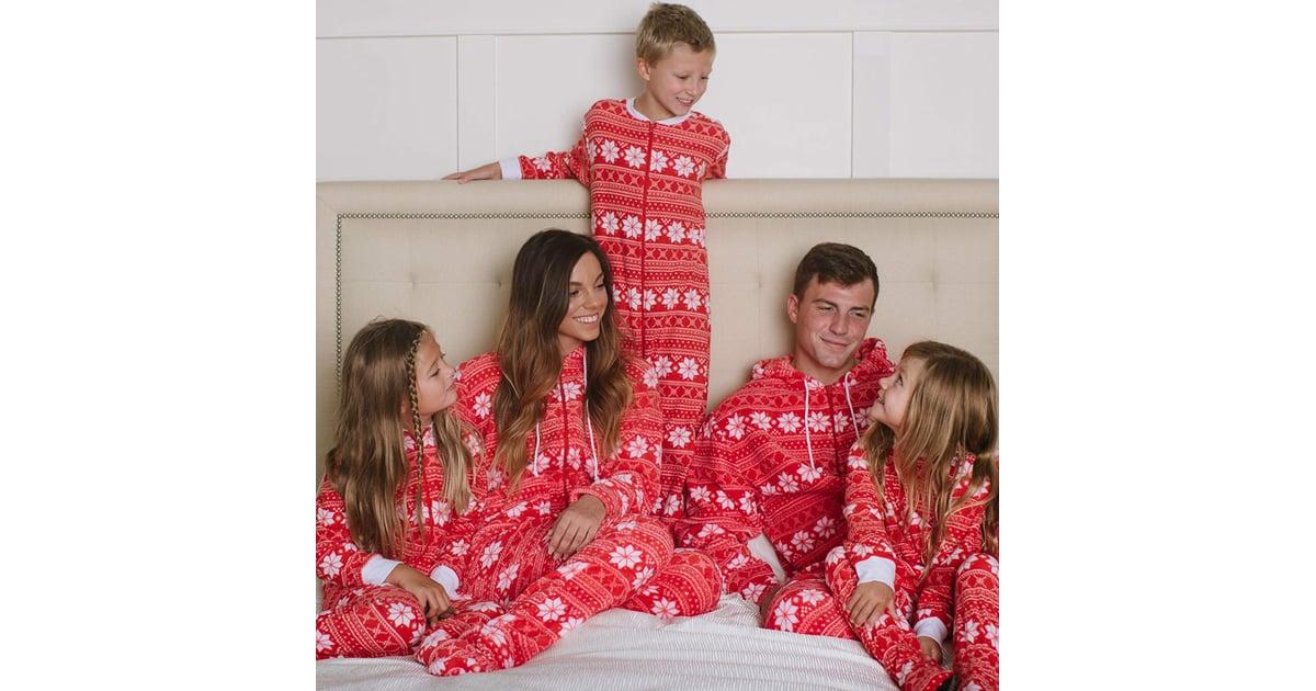 SleepytimePjs Family Matching Red Snowflake Onesie Pajamas ... 424bd485b