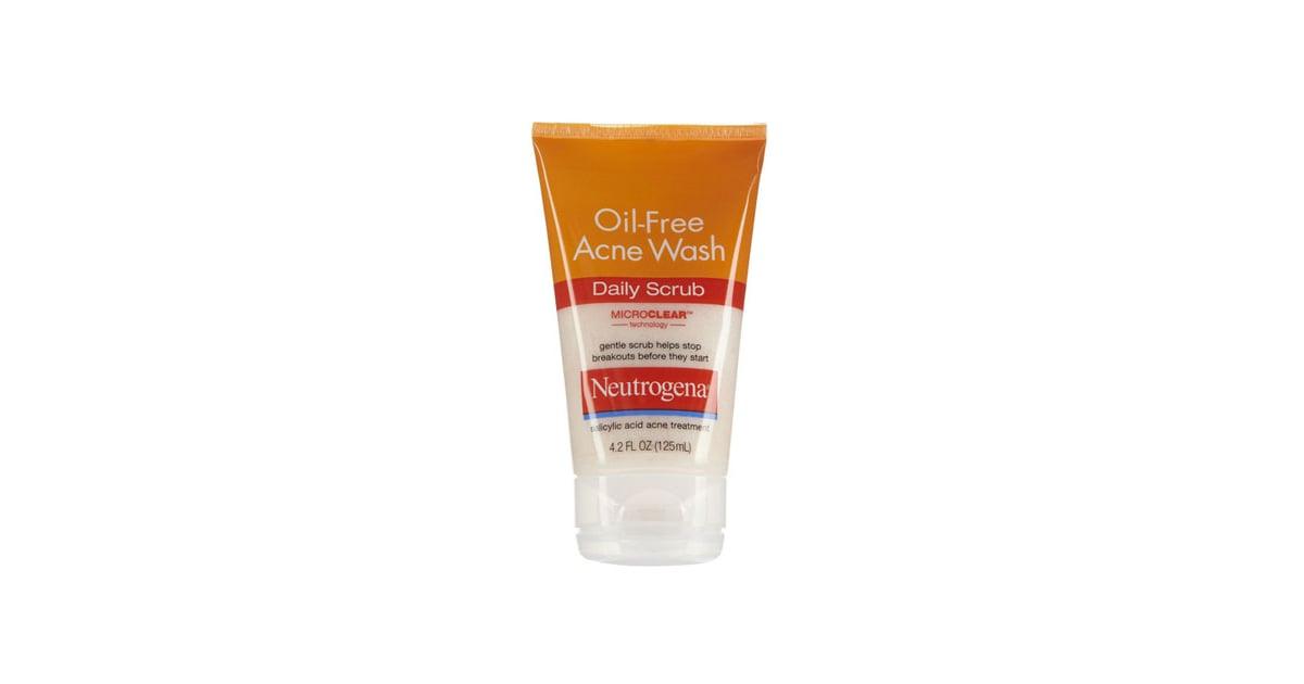 Neutrogena Oil Free Acne Wash Daily Scrub Banish Blemishes On