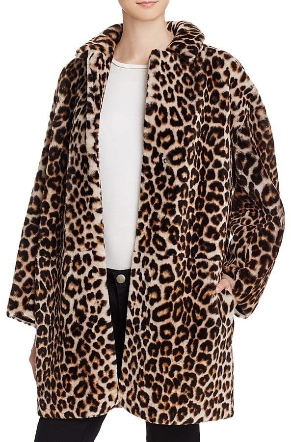 Sandro Boma Leopard Print Fur Coat 3 245 Best Coats