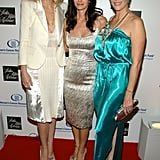 She hit the red carpet with Courteney Cox and Rita Wilson for a Saks Fifth Avenue event in LA in February 2009.