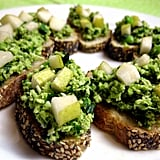Fava Bean Puree Crostini