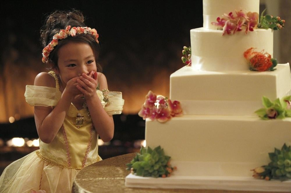 That cake is literally as big as Lily.