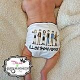 Friends-Inspired Cloth Diaper