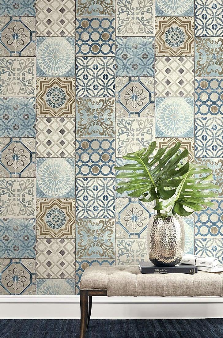 Wallquest Moroccan Style Mosaic Wallpaper Best Bold