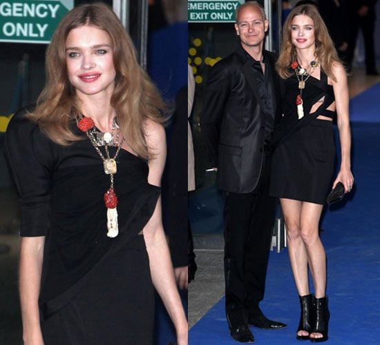 Photo of Natalia Vodianova and Husband Justin Portman at ARK Gala Dinner