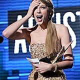 2011: Taylor Took Home 3 More AMAs, Including Artist of the Year