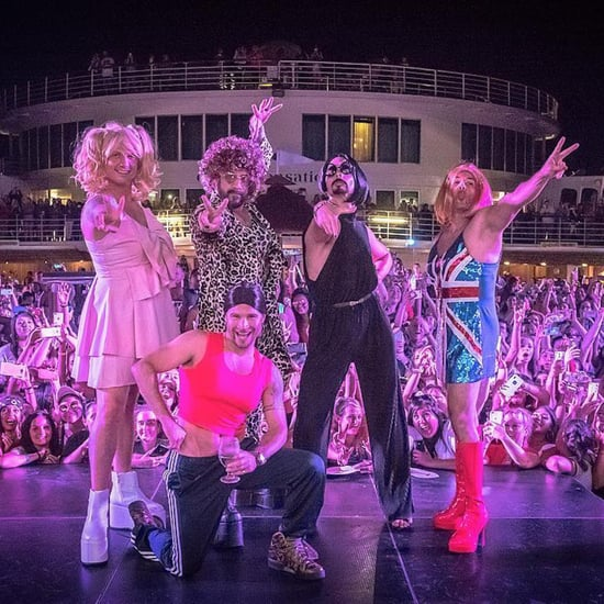 Backstreet Boys Dressed as Spice Girls Pictures