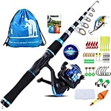 Yongzhi Kids Fishing PoleLeft Handed Fishing Rod