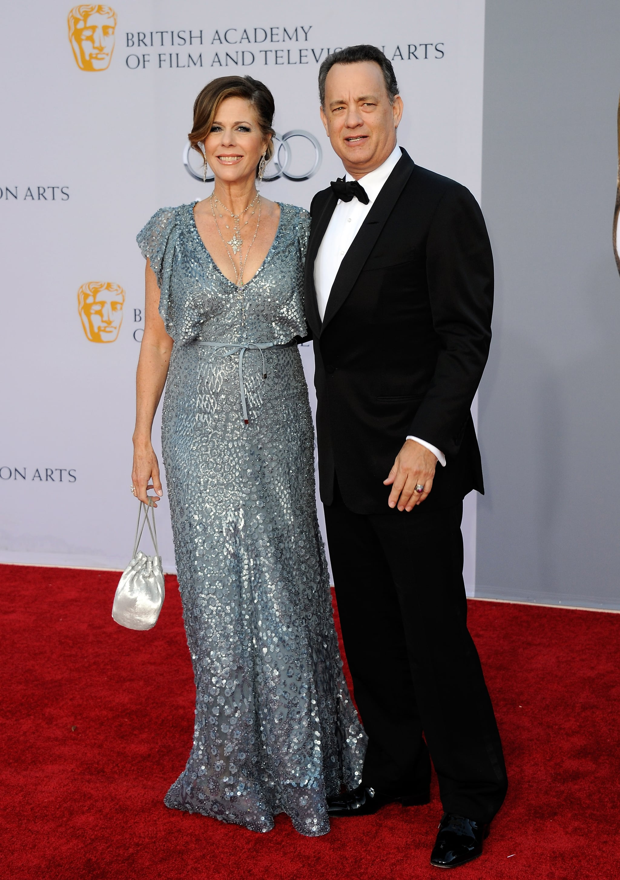Tom Hanks and Rita Wilson at the BAFTA Brits to Watch event in LA.