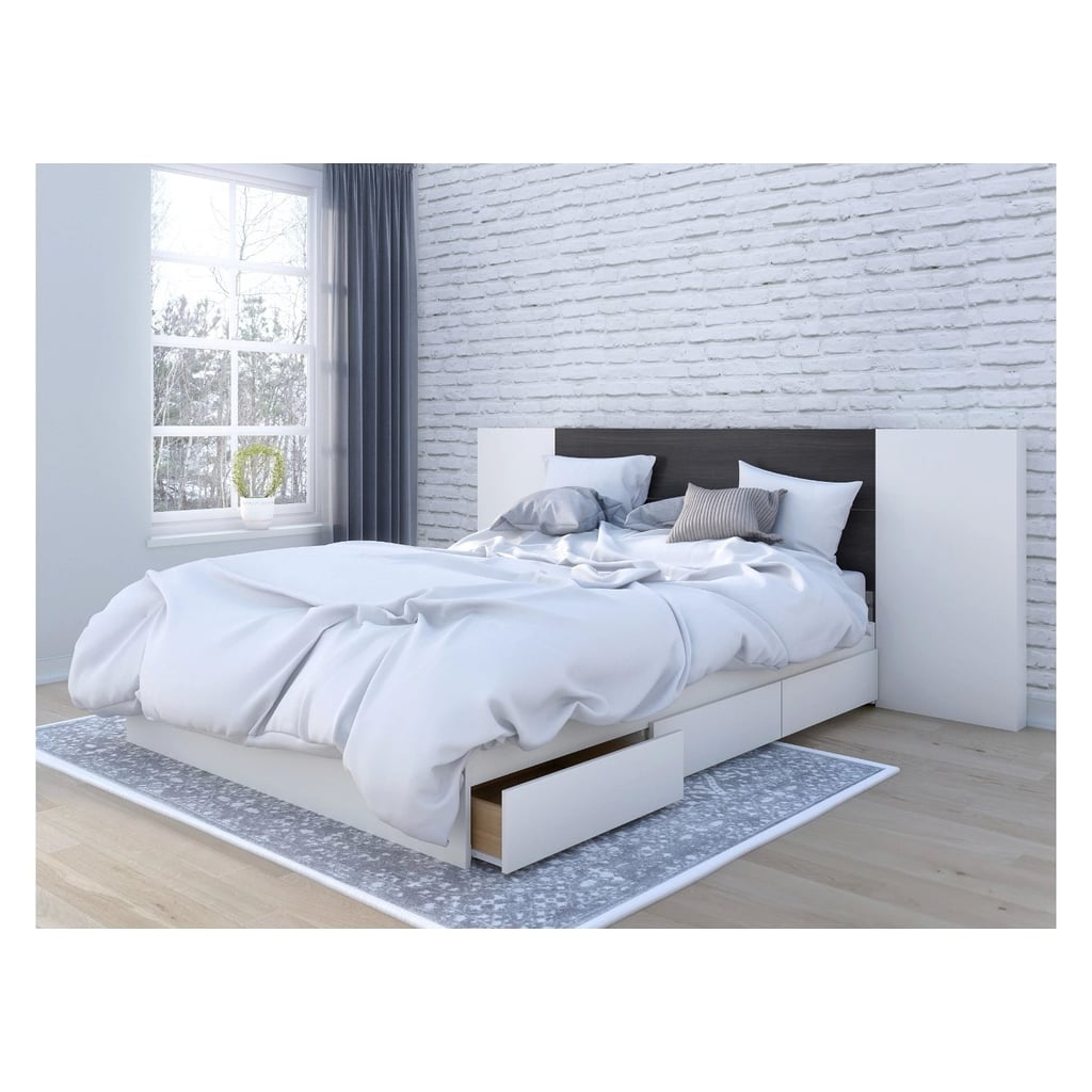 Cadence Queen Size Storage Bed With Headboard Best Small