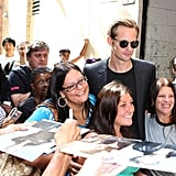 """Alexander Skarsgard Jokes About Naked Scenes and His """"Harry Potter"""" Moment in NYC"""