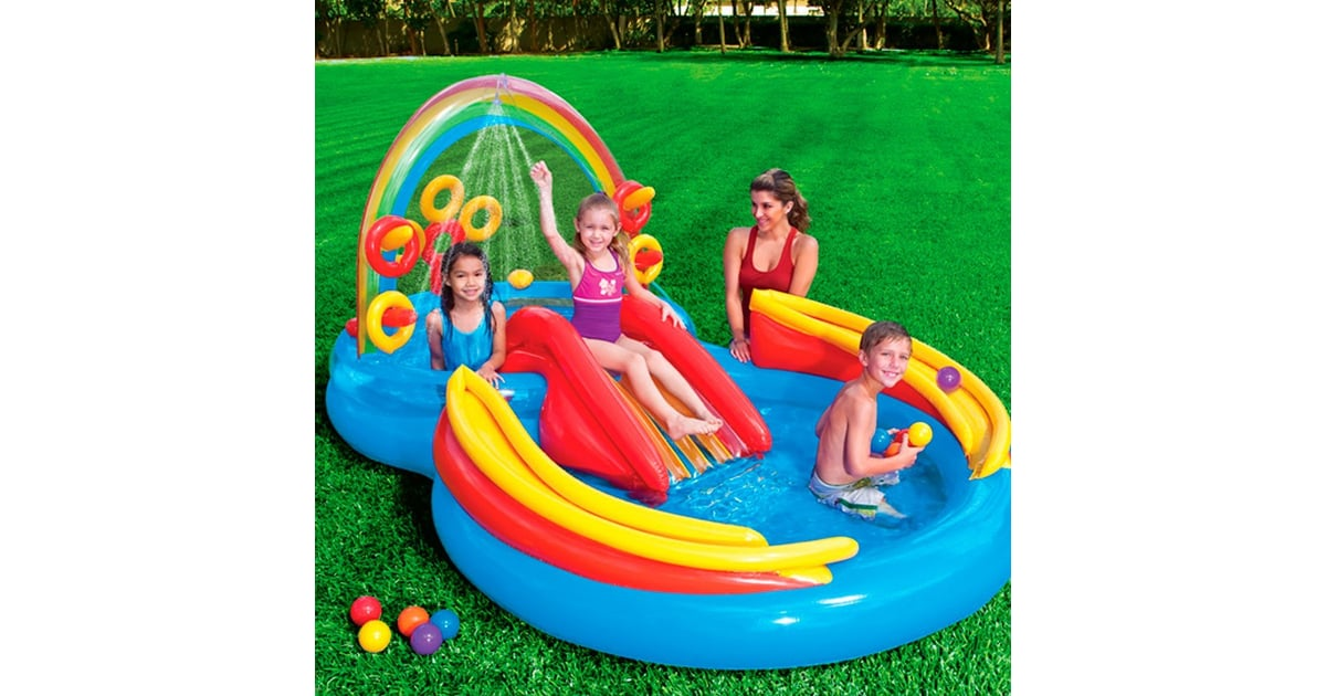 Intex Rainbow Ring Inflatable Play Center | Gift Guide For 6-Year ...