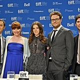 Will Reiser, Bryce Dallas Howard, Anna Kendrick and Seth Rogen took questions at the 50/50 press conference at the Toronto Film Festival.