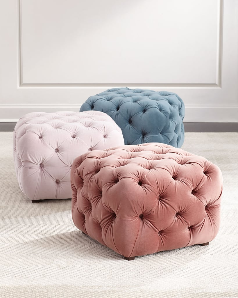 Busby Tufted Cube Ottoman