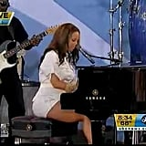 """Alicia Keys Performs """"Empire State of Mind"""" on Good Morning America in 2010"""