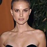 Natalie Portman With a Shaved Head