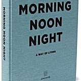 Soho Home - Morning Noon Night Hardcover Book - Blue ($42.24)