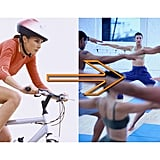"""<a href=""""http:/... the Bike and Onto the Mat</a>"""