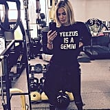 Khloé Kardashian was spotted back in the gym.