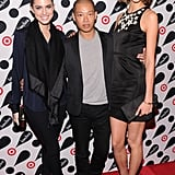 Allison Williams and Karlie Kloss made a Jason Wu sandwich.