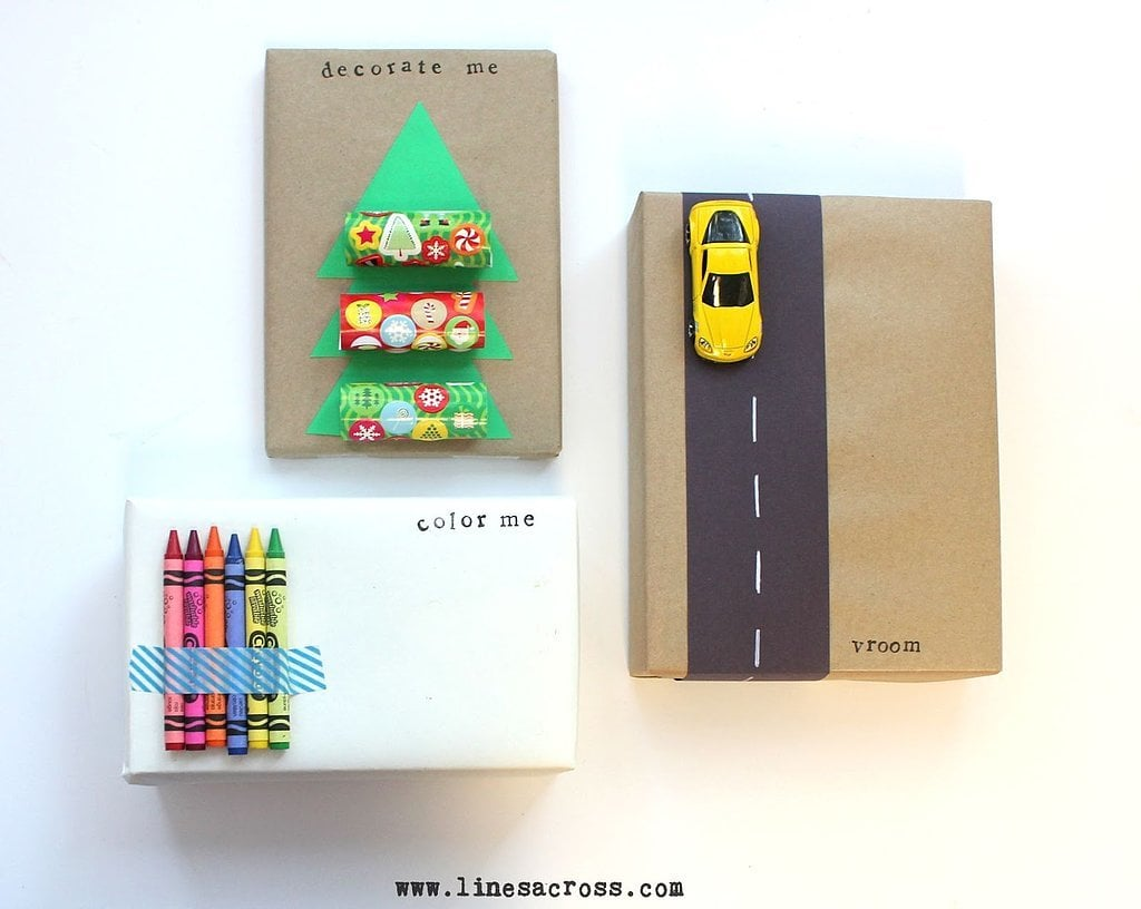 Score Bonus Points With This Easy Thematic Gift Wrap