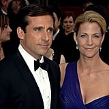 Steve Carell brought along his wife, Nancy.
