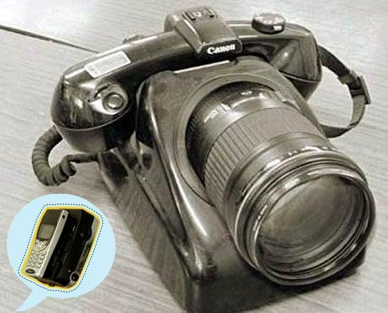 Vintage Camera Phone Puts FOTC Phone Into Perspective