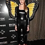 Byrdie Bell outfitted a cool take on a butterfly costume in 2011.