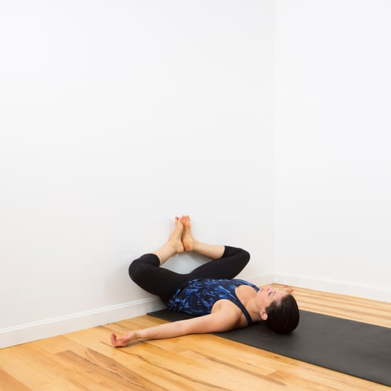 Hip and Lower Back Wall Stretch