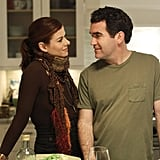 Debra Messing and Brian d'Arcy James in Smash.  Photo Courtesy of NBC