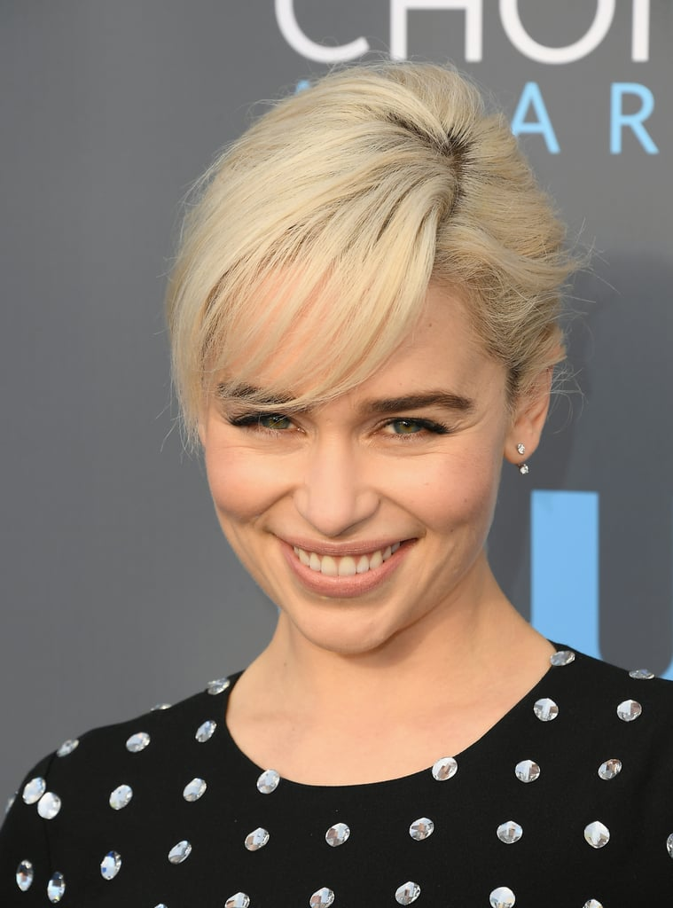 Emilia Clarke Hair And Makeup At Critics Choice Awards