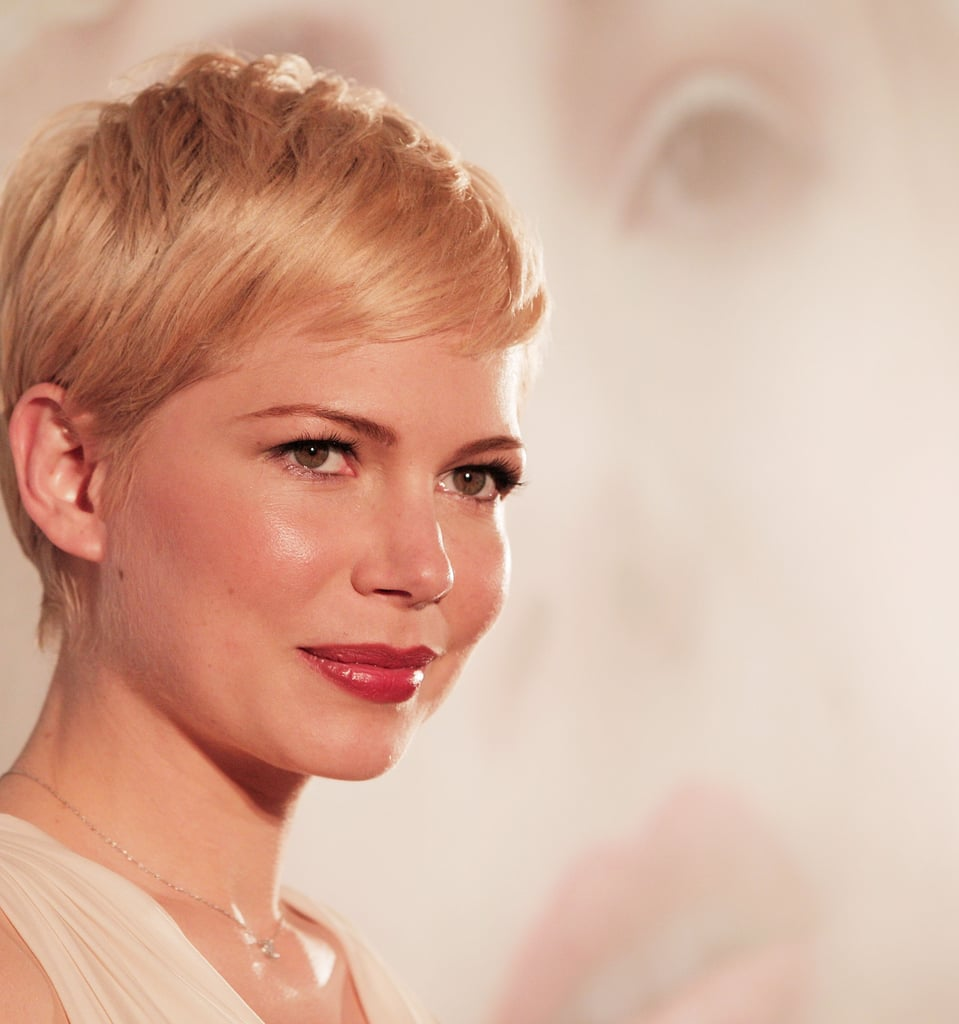 Michelle Williams promoted My Week With Marilyn.