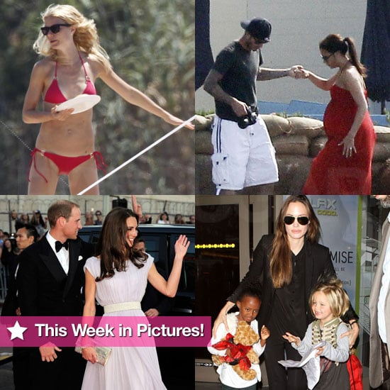 Victoria and Kate Welcome Babies, Gwyneth Sports a Bikini, Kate and Will Take California, and More in This Week in Pictures!