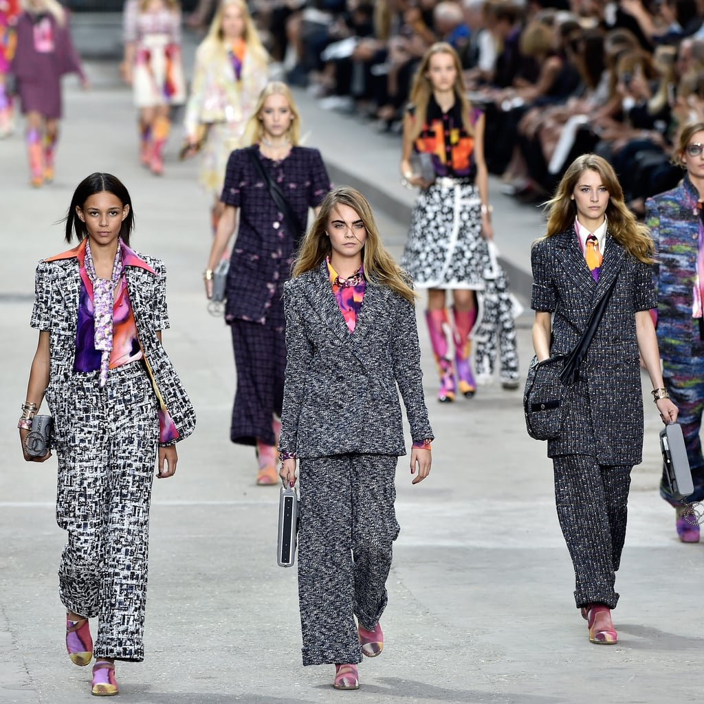 Karl Lagerfeld Put Ladies First at a Politically Charged Chanel Show