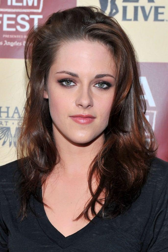 Kristen Stewart's Midlength Brown Hair in 2011