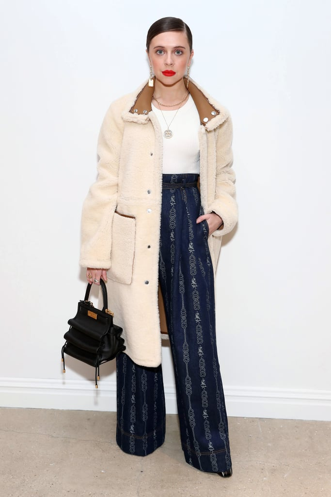 Bel Powley at the Tory Burch Fall 2020 Show