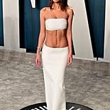 Emily Ratajkowski at the Vanity Fair Oscars Afterparty 2020
