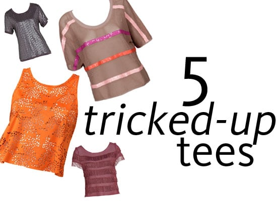 Top Five Going Out Tops For the Weekend: Tricky Tee Shirt Styles from sass & bide, Forever New, Sportsgirl and more!