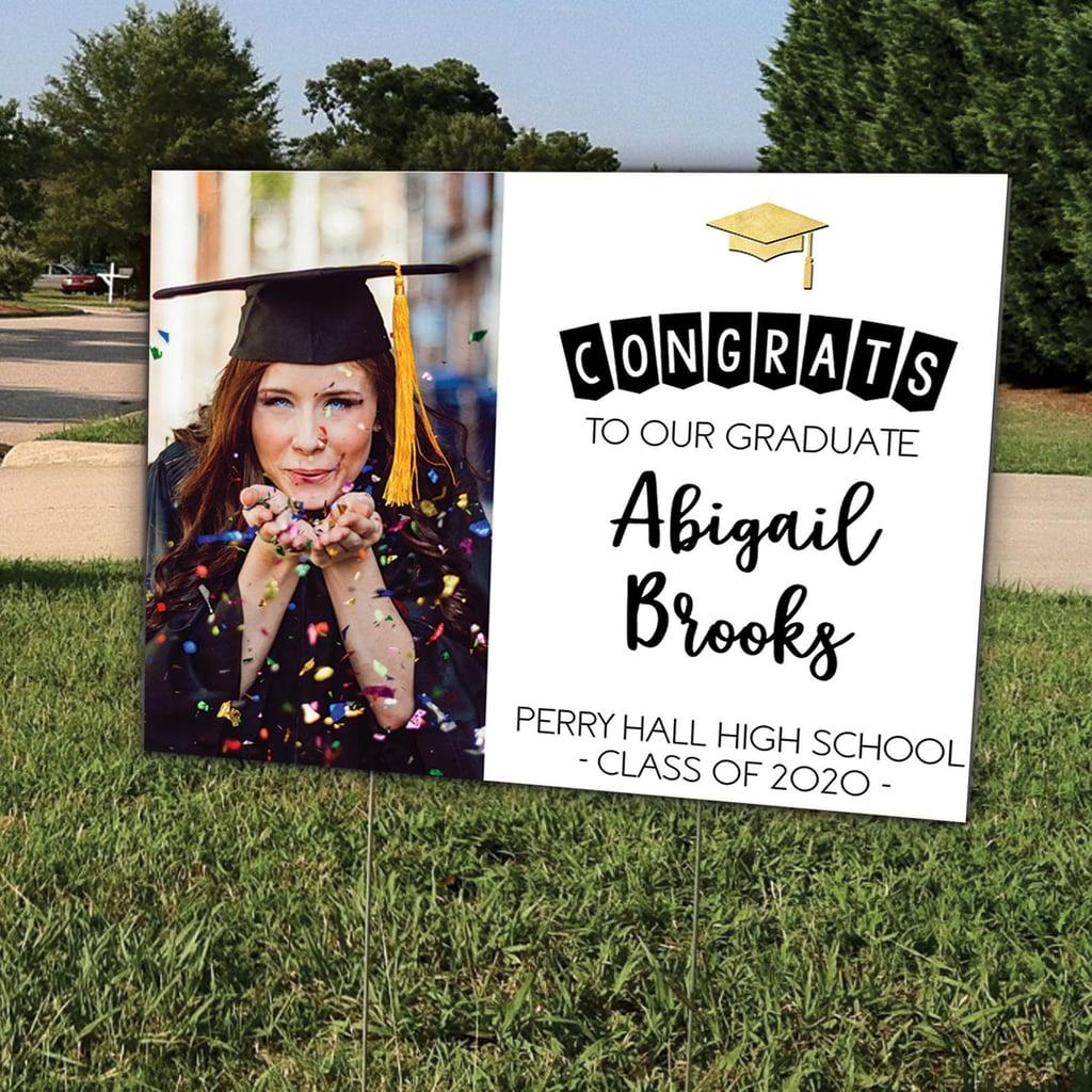 Congrats to Our Graduate Graduation Yard Sign