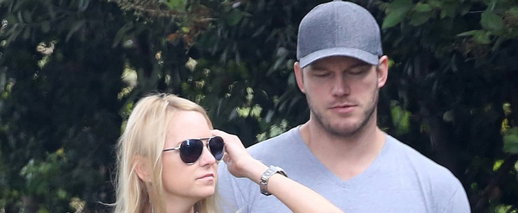 Chris Pratt and Anna Faris Out in Santa Monica August 2018