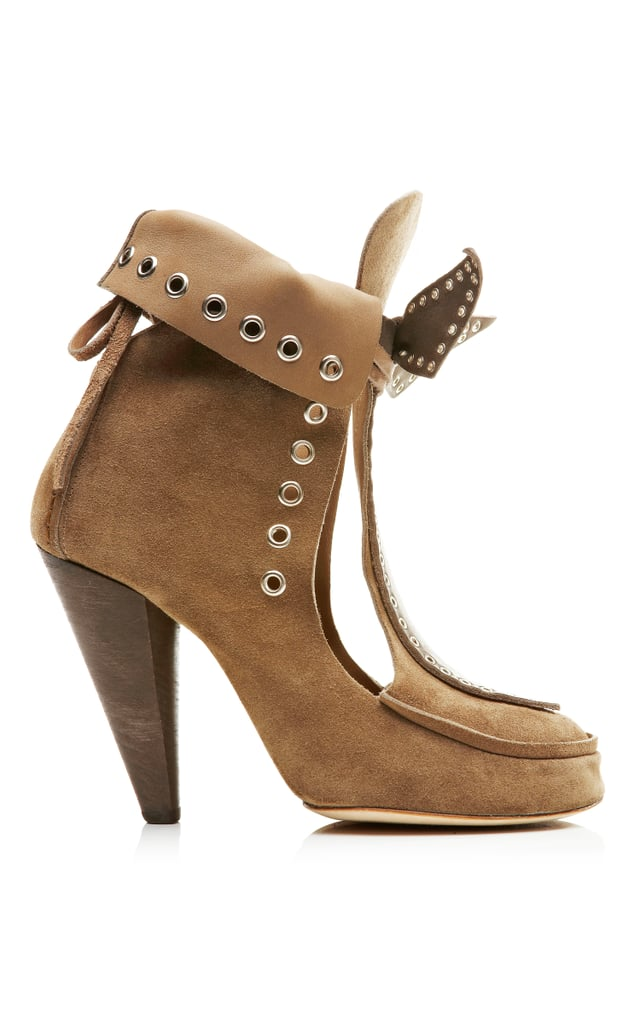 Isabel Marant Milla Bow Tie Loafer Heel ($1,105)