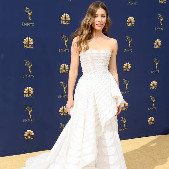 Jessica Biel's Dress at the 2018 Emmys