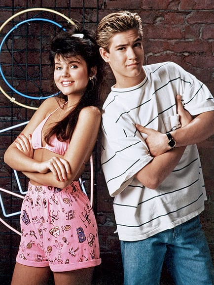 Zack and Kelly From Saved by the Bell