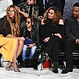 Beyonce and Blue Ivy at the NBA All-Star Game 2018