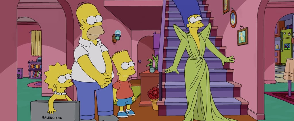 Balenciaga Debuts Its Own Simpsons Episode on the PFW Runway